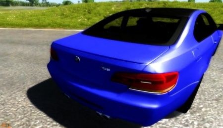 Скачать мод BMW M3 E92 2008 для BeamNG Drive