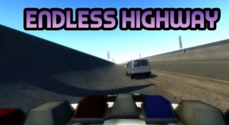 Скачать мод карта Endless Highway для BeamNG Drive