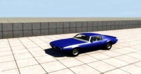 Скачать мод Pontiac Firebird 1970 для BeamNG Drive