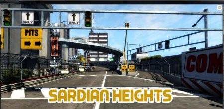 Скачать мод карта SARDIAN HEIGHTS для BeamNG Drive