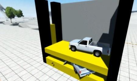Скачать мод BKL CAR CRUSHER для BeamNG Drive