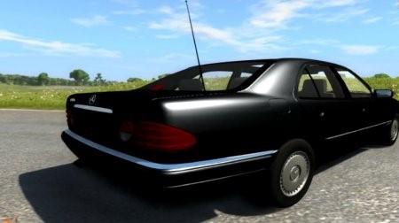Скачать мод MERCEDES E 420 W124 для BeamNG Drive
