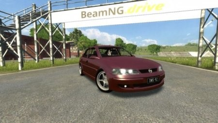 Скачать мод 2001 Opel Vectra B для BeamNG Drive