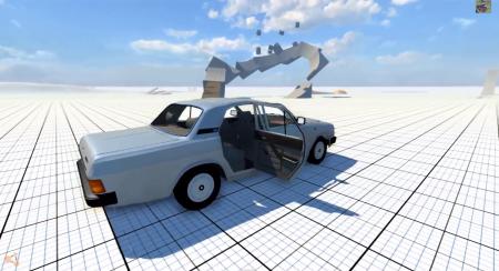 Скачать мод ГАЗ-31029 для BeamNG Drive