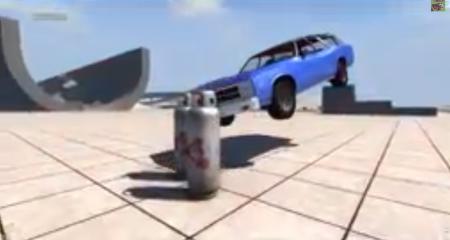 Скачать мод EXPLOSIVE PROPANE TANK для BeamNG Drive