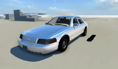 Скачать мод Ford Crown Victoria 1999 для BeamNG Drive