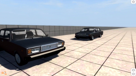 VAZ 2107 NED – BEAMNG DRIVE