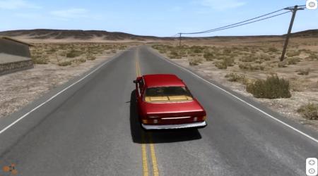 Скачать мод Mercedes Benz W126 для BeamNG Drive