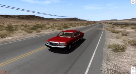MERCEDES BENZ W126 – BEAMNG DRIVE
