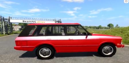 Скачать мод «Range Rover Classic» для BeamNG Drive