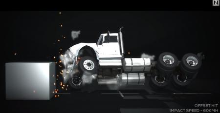 Скачать мод «Т-75 с прицепом» для BeamNG Drive