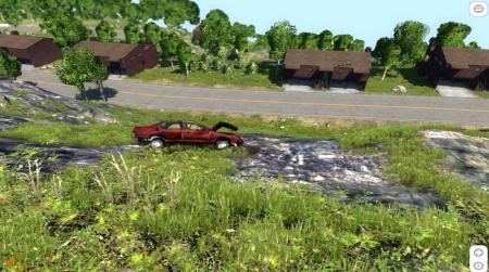 Скачать мод BMW 525 E34 для BeamNG Drive