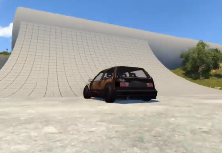 Ibishu Covet Budget Street Cred for BeamNG Drive