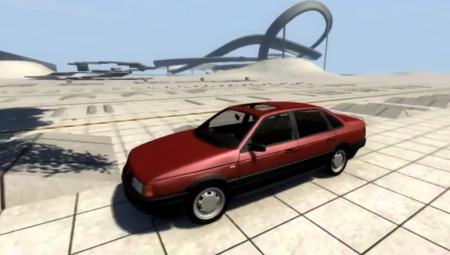 Скачать мод Volkswagen Passat B3 V2 для BeamNG Drive