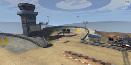 Скачать мод карта Arena 3 для BeamNG Drive