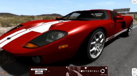 Скачать мод Ford GT 2005 для BeamNG Drive