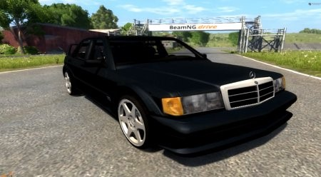 Скачать мод Mercedes-Benz 190E Evolution II 2.5 1990 для BeamNG Drive