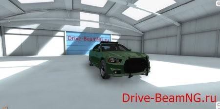 Скачать мод Dodge Charger SRT8 v2 (Police/Sports) для BeamNG Drive