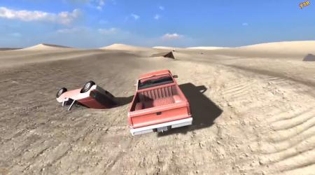 Скачать мод карта Desert Crashsite для BeamNG Drive