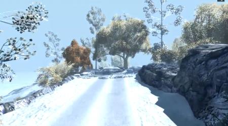 Скачать мод карта Snow Island для BeamNG Drive
