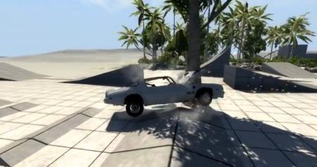 Скачать мод Pontiac Trans AM 77 для BeamNG Drive