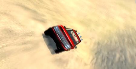Скачать мод карта Desert Baja Track для BeamNG Drive