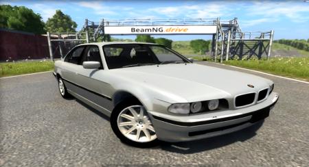 Скачать мод BMW 730I E38 1997 для BeamNG Drive
