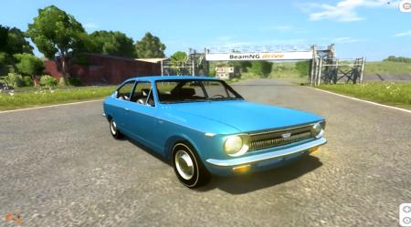 Скачать мод Toyota Corolla Sprinter 1969 для BeamNG Drive