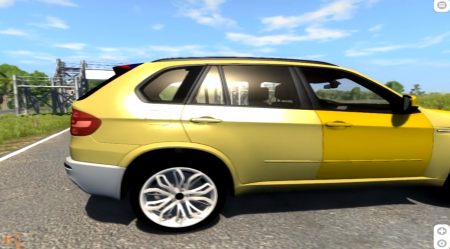 BMW X5M BETA – BEAMNG DRIVE