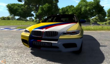 Скачать мод BMW X5M для BeamNG Drive