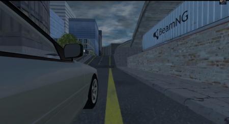 Скачать мод карта Sketch City для BeamNG Drive