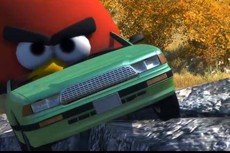 Скачать мод красная птица (Рэд) Angly Bird для BeamNG Drive