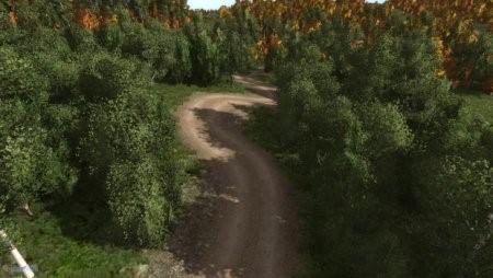 Скачать мод карта Forest Rally для BeamNG Drive