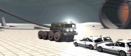Скачать мод МАЗ 53 для BeamNG Drive