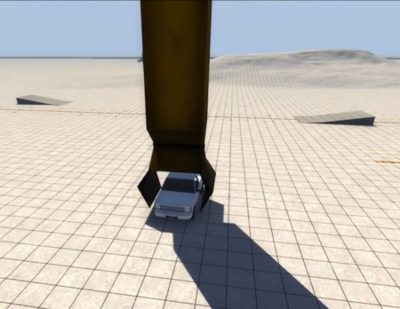Скачать мод кран Dm-Crane для BeamNG Drive