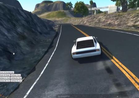 Скачать мод карта Land of the Dead Reckon для BeamNG Drive
