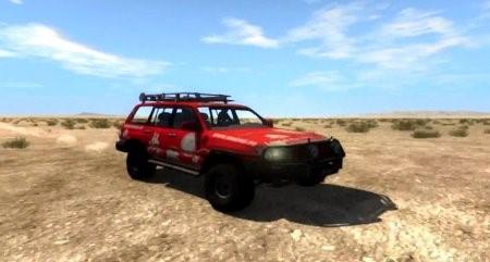 Скачать мод Toyota Land Cruiser 100 v2.0 для BeamNG Drive