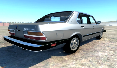 BeamNG DRIVE mod car BMW-535is
