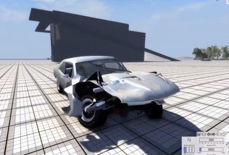 Скачать мод Chevy Nova 1968 для BeamNG Drive