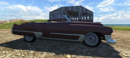 Скачать мод Cadillac 1949 для BeamNG Drive