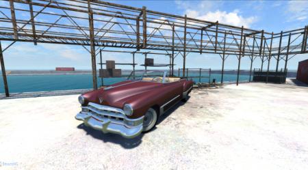 Cadillac 1949 для BeamNG DRIVE 2013