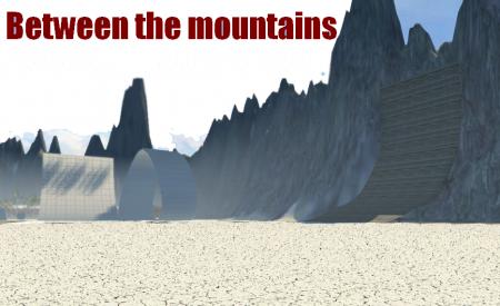 Скачать мод карта Between the mountains для BeamNG Drive