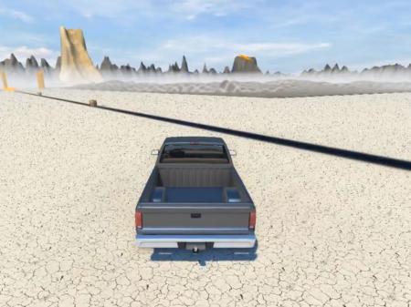 "Карта ""Between the mountains"" для BeamNG Drive"