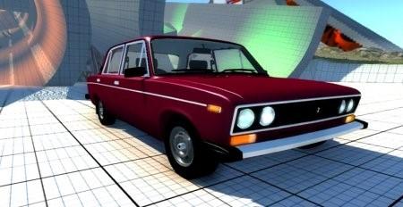 Скачать мод машина ВАЗ 2106 для BeamNG Drive