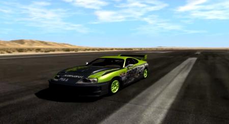 Скачать мод Toyota Supra Drift 1995 для BeamNG Drive