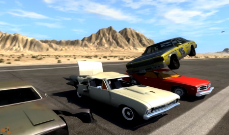 BeamNG DRIVE car mod  American Sedan [Next Car Game]