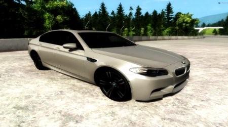 Скачать мод BMW F10 M5 2012 для BeamNG Drive