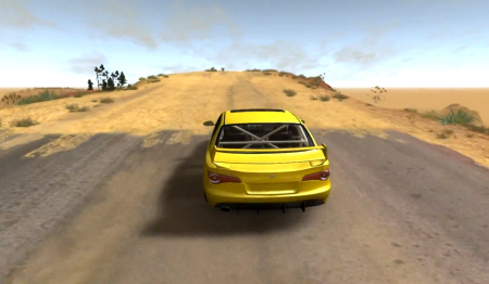 CANYON OF SPEED MAP – BEAMNG DRIVE
