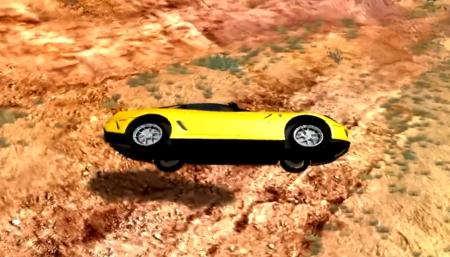 Скачать мод Ferrari 599 GTO 2011 для BeamNG Drive