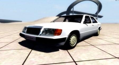 Скачать мод Mercedes-Benz W124 для BeamNG Drive
